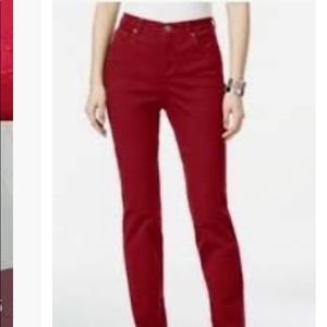 Style and Co. straight leg jeans